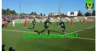 بســام يسجل هدف رائعا ويضمن لشباب قسنطينة رسميا البقاء في الدوري الجزائري الاول