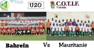 مباشر : موريتانيا – البحرين -بطولة كوتيف