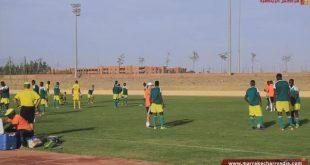 إستعدادات المنتخب الموريتاني بمدينة مراكش