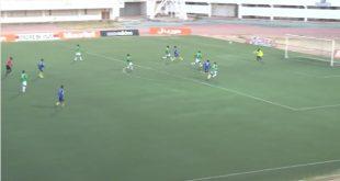 اللاعب الشاب حمي الطنجي يسجل ثنائية في مباراة تجكجة و دز في الجلة 18 من الدوري الموريتاني –