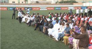 تكريم رئيس اتحاد كرة القدم احمد ولد يحي من طرف عمال وأعضاء المكتب التنفيذي للإتحاد