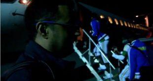 طائرة خاصة لنقل بعثة المنتخب الوطني المرابطون بعد الفوز على بتسوانا