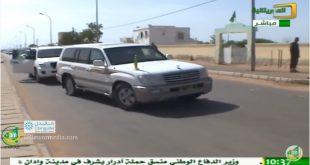 وصول ولد عبد العزيز الى مدينة روصو لترأس مهرجان تحسسي حول تعديل الدستور
