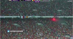 مصر تفوز على الكنغو  وتتأهل لكأس العالم روسيا 2018