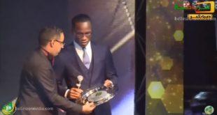 تكريم  نجم الكرة الإيفوارية ديديه دروجبا في حفل جوائز الكرة الموريتانية 2017 FFRIM AWARDS