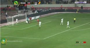 موريتانيا تخسر في لقاء الأفتتاح الشان امام المغرب البلد المنظم 4 :0