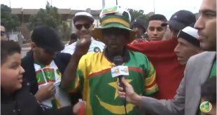 لقطات و أراء لبعض المشجعين الموريتانيين بالمغرب