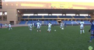تدريبات المنتخب الوطني الموريتاني بمركب مراكش استعدادا للقاء غينيا