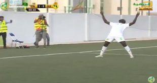 الفلاني يضيف الهدف الثاني موريتانيا 2: 0 غينيا